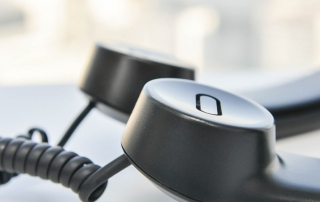 Zwei Telefonhörer